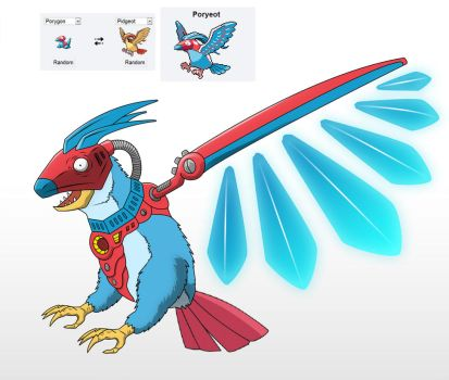 Poryeot - POKEFUSION by BaltasarVischi