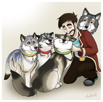 Xephos and the Olympic Wolves by RatherPeculiar