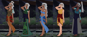 Atlantis Character Creator preview by Niobesnuppa