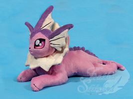 Shiny Vaporeon by FeatherStitched