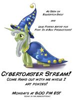 The Cybertoaster Stream! by CyberToaster