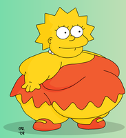 Fatty Lisa by Gnight