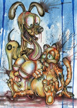 Garfield and Friends by Jay-Allen-Hansen