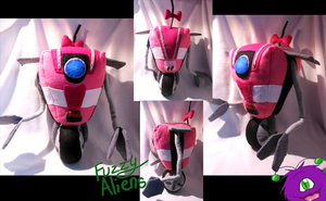 Pink Claptrap (Cl4P-TP) -For Sale- by FuzzyAliens