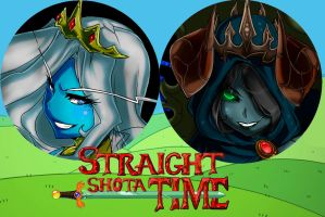 Adventure Time: Human vs Queens by Oddmachine