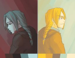 Color Palette: Edward Elric by Nippaaah