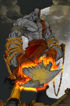 I am the GOD of WAR by commanderlewis