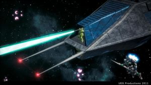 Battle in Space by UEGProductions