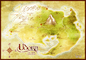 Udora - a prototype map by GrimGoblin