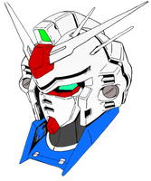 Gundam GP03 Head by HieiFireBlaze