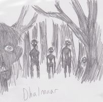 Scratches: Dhalmaar by RichardVale