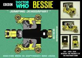 Doctor Who - Bessie by mikedaws