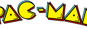 Pac-Man logo (US) by RingoStarr39