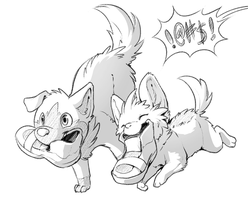 Woof by Mewitti