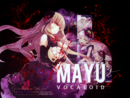[Art #5] Mayu - Vocaloid by sandrareina