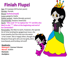 Finiah Flupzi - profile by Rotommowtom