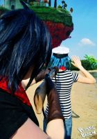 GoRiLLaZ Cosplay 179 by Hikarulein