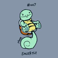 007 Squirtle by toadcroaker