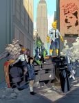 X-men Out downtown by Graconius