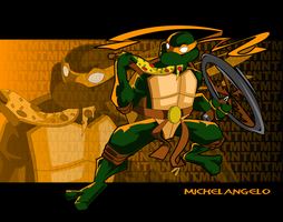 MICHAELANGELO by kudoze