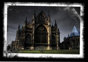 Lincoln Cathedral HDR Jan 09 by photographicsam
