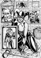 Harley Quinn Memories by leandro-sf