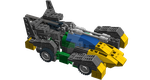 Legoformers Springer Triple Changer Car Mode by pittstop