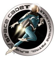 Space Cadet by DigitalAberration