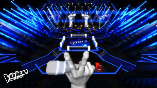 MMD Stage The Voice Season 2 2013 By Moulinneufbeast