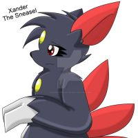 Xander The Sneasel by Zander-The-Artist