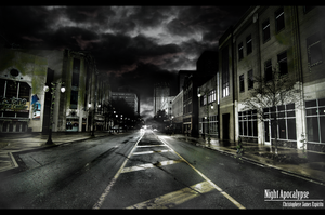 Night Apocalypse II by Christophere13