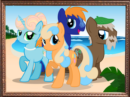 Shores Family Portrait by equinepalette