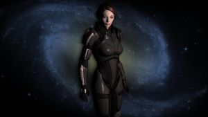 BAMFemale Shepard by Lordess-Alicia