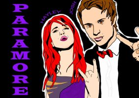 Paramore - Hayley and Josh by Pmore13