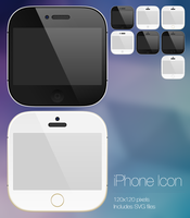 Skeuomorphic iPhone Icon: Upcoming theme Preview by MagWhiz