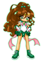 Super Sailor Jupiter by Keiko-cha