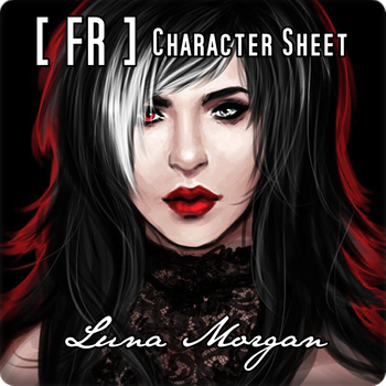 [FR] CHARACTER SHEET - Luna Morgan by formol-overdose