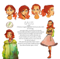 Isallys character sheet by SuperAdele