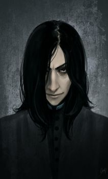 Snape again by LiaBatman