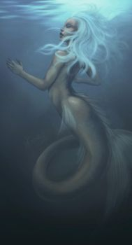 Mermaid by cryptfever