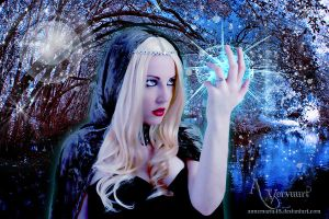 Hologram Witch by annemaria48