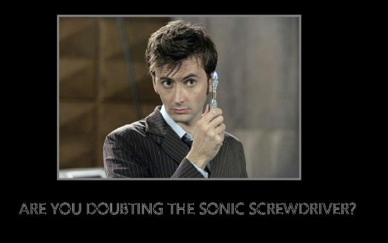 Sonic Screwdriver by coralinebutton22