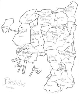 Daedalus Stories--City Map by Patameth