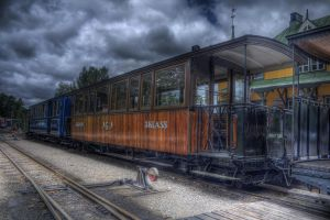 Old Railroad II by HenrikSundholm