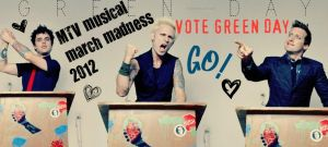 VOTE GREEN DAY by Sonnyhart