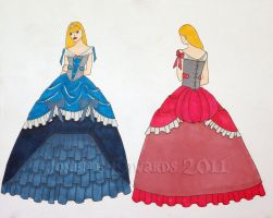 Aurora's Ball Gown by Isilian