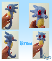 Horsea Crochet by SonARTic