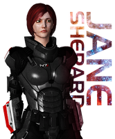 Portrait: Jane Shepard (liarafemshep) by Just-Jasper