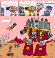 Never give up, noble Urbanmech... by ElProtection