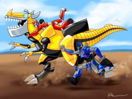 How To Teach Your Girl To Ride A Dinobot by BrookRiver
